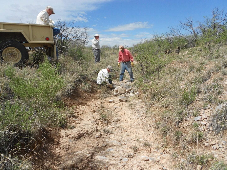 Conservation Practice - Rock Dam - Photo Courtesy of Santa Cruz NRCD