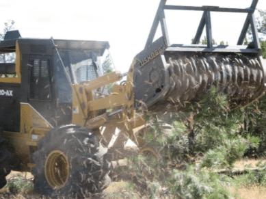 Mechanical Brush Management PC: Apache NRCD/NRCS