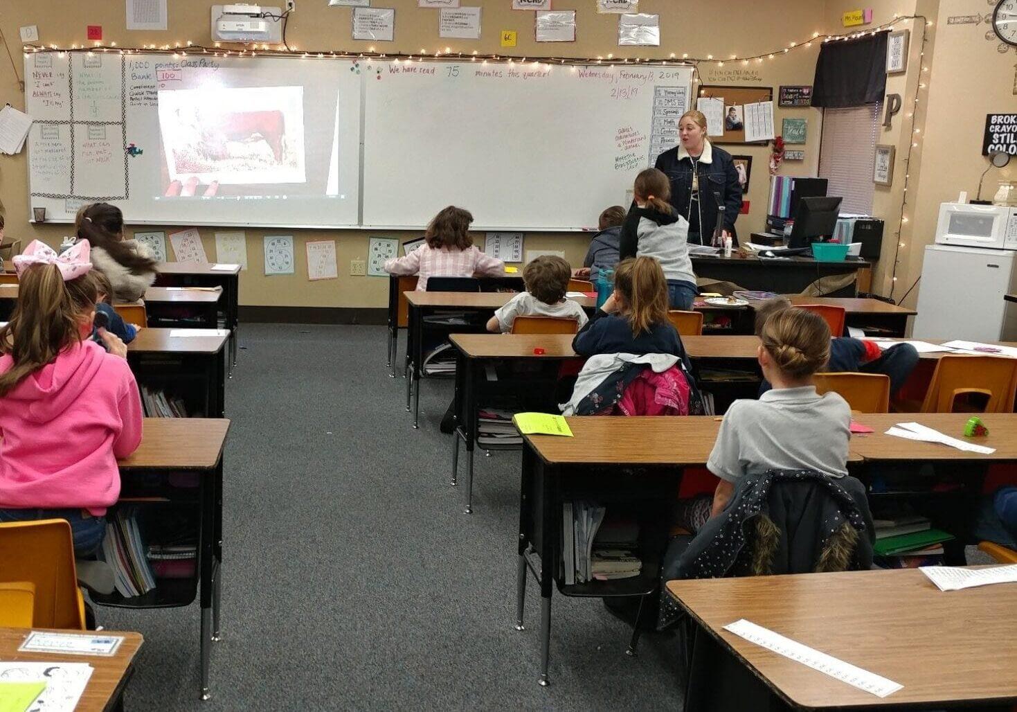 Ag in the Classroom - Big Sandy NRCD