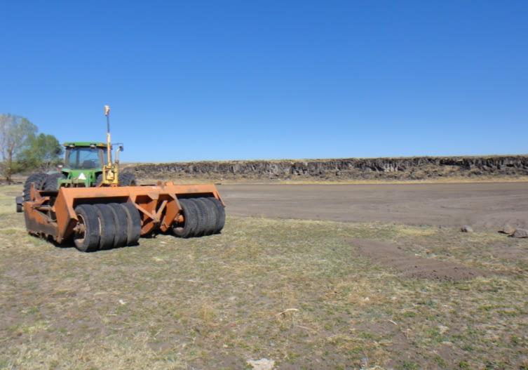Land-leveling PC: Apache NRCD/NRCS