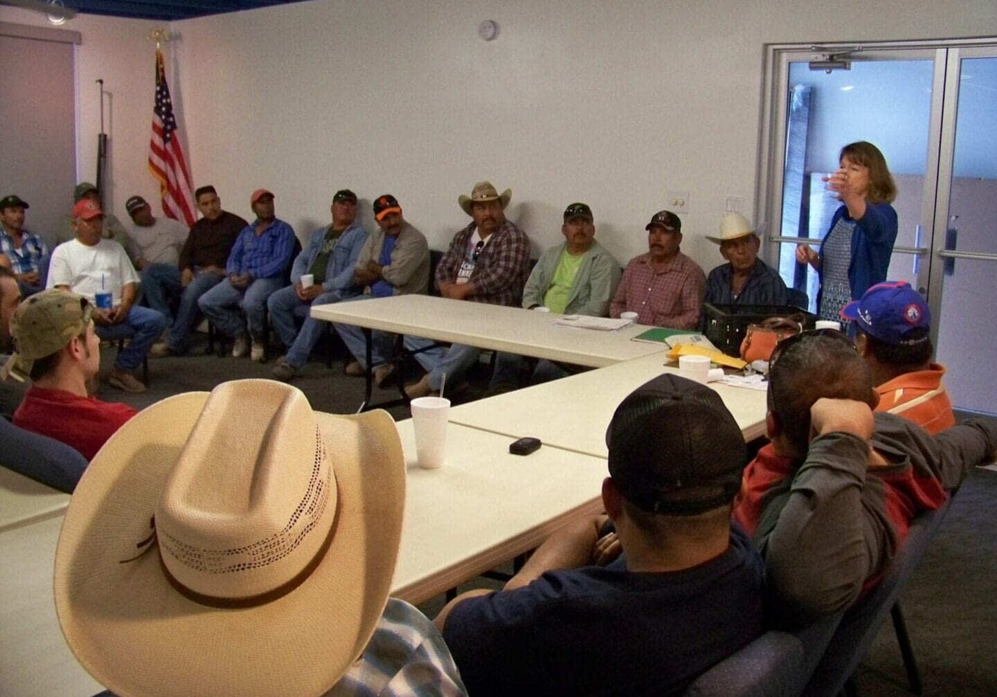 Conservation Education, Pesticide Training - Photo courtesy of Gila Bend NRCD